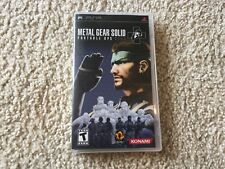 Metal Gear Solid: Portable Ops Plus (Sony PSP, 2007) PSP
