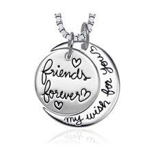 6b350caa83db Reino Unido   925 Plata PLT  Friends Forever mi deseo para ti