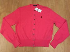 NWT Ralph Lauren Polo Tanija Ladies Pink Cardigan Large RRP £130