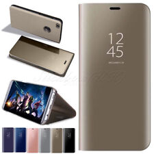 para Huawei P10 / P8 LITE 2017 New Vista Inteligente Espejo Libro De Cuero