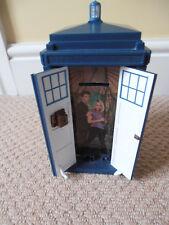 Doctor Who Tardis Money Box - David Tennant & Rose - Electronic / Lights / Sound