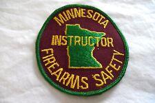 Minnesota MN Firearms Safety Instructor Patch - Gun Safety Teacher
