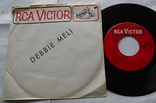 """DEBBIE MELI Forever Yours / Wake Up Heaven Ex CANADA 1966 PS 45 7"""""""