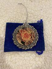 Alpha Xi Delta pewter ornament Roses 2006