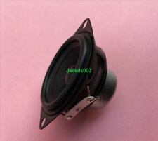 2pcs 52mm 4Ω 10W full-range Speaker 4ohm Rubber edge loudspeaker Home Audio Part