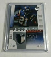 LADAINIAN TOMLINSON - 2007 ULTIMATE COLLECTION - 2 COLOR PATCH - #15/99 -
