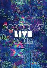Live 2012 by Coldplay (CD, Nov-2012, 2 Discs, Parlophone)