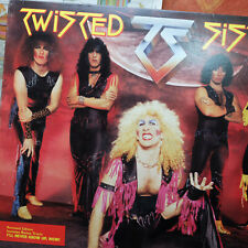 1985 Twisted Sister – Under The Blade Record Vinyl LP – PROMO – EX/VG+