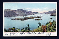 1905 view of the Narrows from Shelving Rock Lake George New York postcard