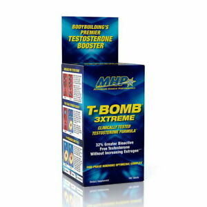 MHP T-BOMB 3XTREME TEST Formula 168 Capsules BEST PRICE FREE SHIPPING