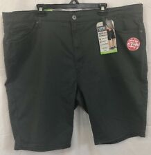 Signature Levi's Premium Comfort Athletic Fit Size W44 Shorts NWT Gray