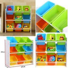 Kinder Spielzeugbox Spielzeugregal Kinderregal Bücherregal  65*26.5*60cm