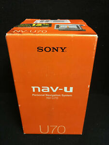SONY NV-U70 Personal Navigation System (Touch Screen GPS) - Used/Original Box