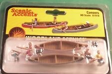 Woodland Scenics, Scenic Accents: Canoers - Ho Scale A1918