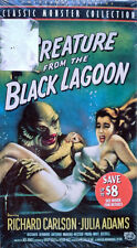 CREATURE FROM THE BLACK LAGOON - RICHARD CARLSON, JULIA ADAMS- VHS TAPE - SEALED