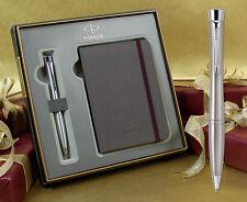 Parker Urban Ballpoint Pen - Stainless Steel Chrome Trim Gift Set