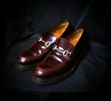 Gucci Princetown Burgundy Leather Slippers Men's Shoes Size 11.5 Horsebit 1953