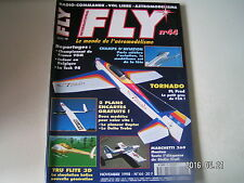 **a Fly International Magazine n°44 Plan encarté Le Raptor et le Delta Trobu