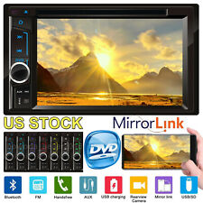 2Din 6.2'' Car Stereo CD DVD MP3 Audio Radio Bluetooth USB Head Unit Player