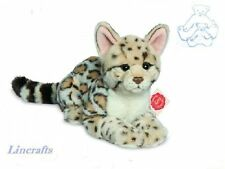 Ocelot Lying  Plush Soft Toy Wildcat  by Teddy Hermann Collection. 90459