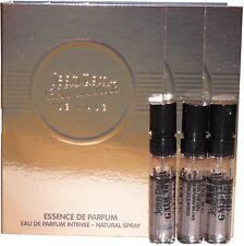 Jean Paul Gaultier Le Male Essence De Parfum Lot of 3 Mens 1.5 ml Spray Samples