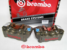 Brembo Billet (CNC) Front Caliper Kit w/ Brake Pads 108mm Radial Spacing