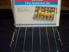 BAR B QUE 7 PC SHISHKABOB SET
