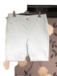 Womens Denim Shorts Size 18