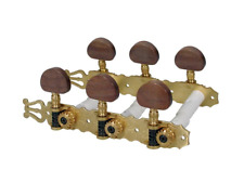 SET 6 MECCANICHE PER CHITARRA CLASSICA 3+3 BOSTON 130-SB WOOD BUTTON