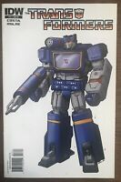 Transformers #17 Soundwave Retailer Incentive Variant IDW 2009 2011 Comic Book