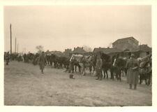 Foto, Ausladen in Brest zum Angriff auf Kowel, Bahnhof (N)20550
