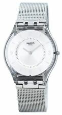 Swatch Skin Metal Knit Quartz SFM118M Womens Watch