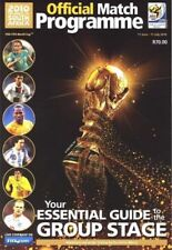 2010 FIFA WORLD CUP OFFICIAL PROGRAMME GROUP STAGE MINT