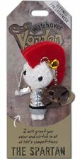 """Watchover VOODOO DOLL Keychain, THE SPARTAN, Destined For Greatness, 3.25"""" Tall"""