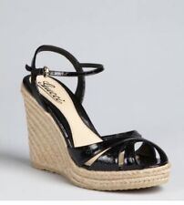 GUCCI LADIES WEDGES ESPADRILLES GUCCISSIMA SIZE 38 GREAT CONDITION IN BOX