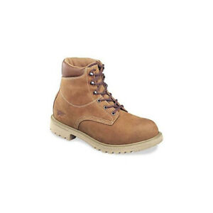 Red Wing 1421 Men's Waterproof Insulated Work Boot (Soft Toe, Brown Lthr, 8EE)