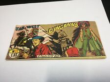 Il piccolo COW BOY L'Inganno  N° 23  1949 striscia originale far west fumetto