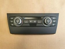2007 BMW 320D M-SPORT 4DR 2.0 - HEATER CLIMATE CONTROL PANEL 9119686