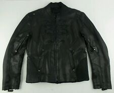 RARE Milwaukee Leather By Shaf Riding Motorcycle Womens Jacket Size large L