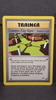Pokemon Card Celadon City Gym 107/132 Gym Heroes Uncommon Near Mint
