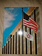 1975 FORD ANNUAL REPORT Thunderbird Mustang  F100 Cougar LTD Comet Cyclone 75