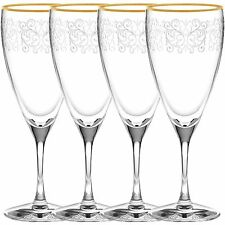 Noritake Odessa Gold Iced Beverage Glasses, Set of 4