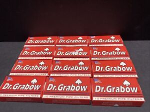 Dr. Grabow Pipe Filters - 12 Boxes of 10 Filters - 120 Filters Total!