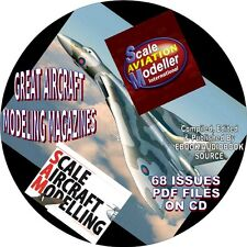 SCALE AIRCRAFT MODELLING MAGAZINE - 68 ISSUES - PDF FILES - ON CD - HOBBY MODELS