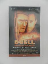 VHS Video Kassette Duell Jude Law Joseph Finnes Rachel Weisz Jean-Jacques Annaud