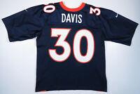 Vintage 90s Terrell Davis Denver Broncos Nike Team NFL Football #30 Jersey M