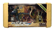 NEW GI Joe Hasbro Sigma 6 Pyramid of Peril Snake Eyes Adventure Team 2007 MIP