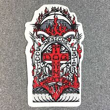Dogtown Scott Oster Skateboard Sticker SMALL 2.1in si