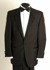 DJ-2 MENS FORMAL SINGLE BREASTED DINNER SUIT, 2 PIECE SUIT, EVENING WEAR
