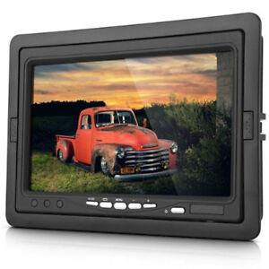 "7"" TFT LED Monitor Car Rear View Kit + Reversing Camera for bus Truck, UK Stock"